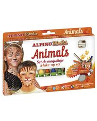 Comprar Set  maquillaje Animals Alpino Fiesta 6 colores surtidos 5gr.