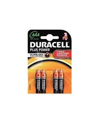 Comprar Blister 4 pilas Duracell Plus Power AAA