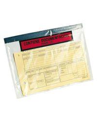 Comprar Caja 250 sobres adhesivos Portadocumentos dokufix texto impreso 175x135mm (ext)