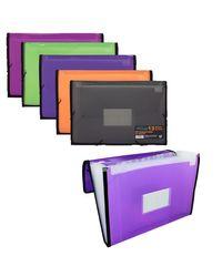Comprar Carpeta fuelle Frame 13 bolsillos A4 naranja