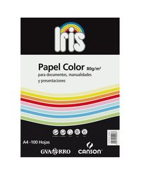 Comprar Paquete 100h papel color Iris 80gr A4 naranja