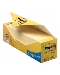 Comprar Pack 16 blocs notas Post-it® 38x51mm 16+4 gratis amarillo