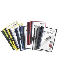 Comprar Dossier pinza Duraclip 1-30h A4 rojo
