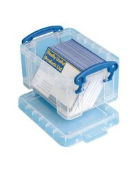 Comprar Caja almacenaje Really Useful boxes 0,3 l color cristal tranparente