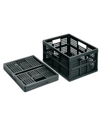 Comprar Caja alamcenaje Really Useful boxes 32 l plegable sin tapa negro