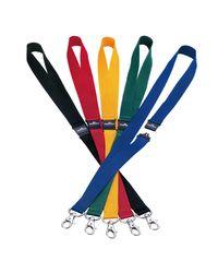 Comprar Pack 10 cintas portanombres con cierre seguridad 44 cm azul oscuro