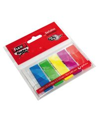 Comprar Blister 5 marcadores Fixo notes zig-zag removibles 13x43mm 25h x 5 colores surtidos neón