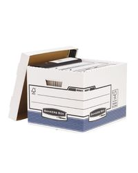 Comprar Pack 10 contenedor archivo R-kive 333x285x390mm blanco