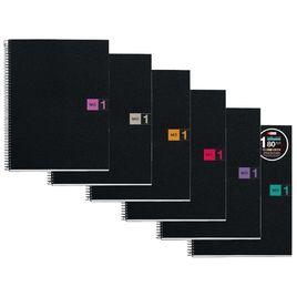 Comprar Cuaderno Miquel Rius microperforado Note Book1 A4 cuadrícula 5x5 80h 90 g/m2 azul