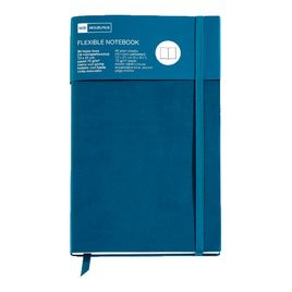 Comprar Cuaderno flexible Top Nordic Colors 130x210mm 96 h. azul petróleo