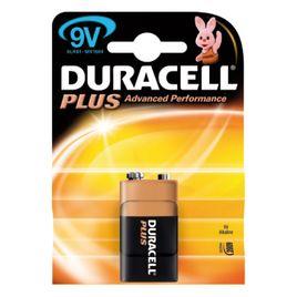 Comprar Blister 1 pila duracell alcalina plus 9 volt