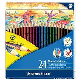 Comprar Caja  12 lápices de colores Noris Colour rojo