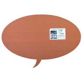 Comprar Pizarra Skin Shape Talk de corcho 75x115cm