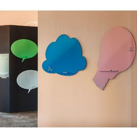 Comprar Pizarra Skin Shape Idea superficie lacada 75x115cm color azul