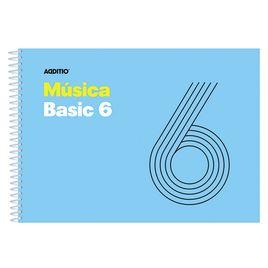 Comprar Cuaderno música 25h 6 pentagramas-9mm 21,5x15,5cm