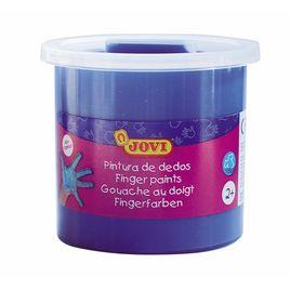 Comprar Bote pintura dedos Jovi 125ml azul
