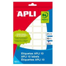 Comprar Pack 420 etiquetas Apli escritura manual cantos romos 16x22mm