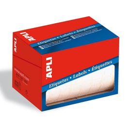 Comprar Rollo 4200 etiquetas Apli escritura manual cantos romos 16x22mm
