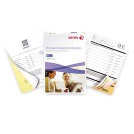 Comprar Pack 500h papel autocopiativo Xerox premium Carbonless 3 tantos CB/CFB/CF blanco, amarillo