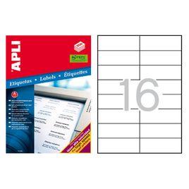 Comprar Caja 4000 etiquetas Apli impresora láser 105x37mm