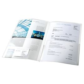 Comprar Pack 5 sobres-dossiers doble pp canguro A4 cristal