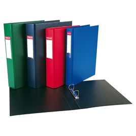 Comprar Carpeta Esselte pvc 2 anillas 40mm folio azul
