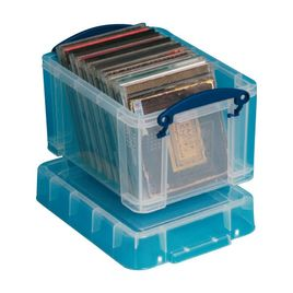 Comprar Caja almacenaje Really Useful boxes 3 l color cristral transparente