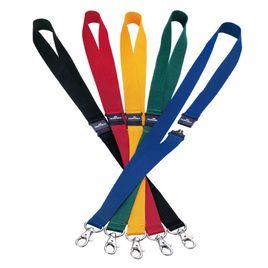 Comprar Pack 10 cintas portanombres con cierre seguridad 44 cm rojo