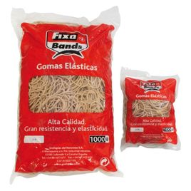 Comprar Caja 100gr gomas elásticas Fixo Bands 1,5mm x 6cm