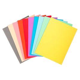 Comprar Pack 100 subcarpetas Foldyne 180g 24x32cm colores surtidos