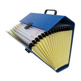 Comprar Maletín fuelle pvc Project folio azul