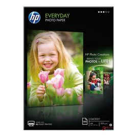 Comprar Pack 100h papel fotografico HP semi-glossy 200gr A4