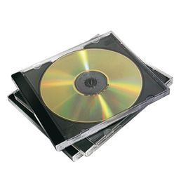 Comprar Pack 10 Estuches Fellowes CD negro