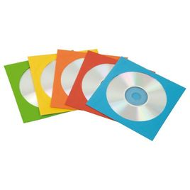 Comprar Pack 50 sobres CD  Fellowes papel colores