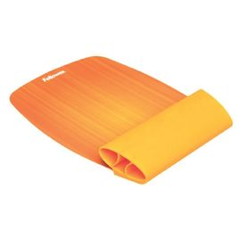 Comprar Reposamuñecas ratón Fellowes flexible Naranja