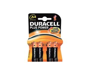 Comprar Blister 4 pilas Duracell Plus Power AA LR06