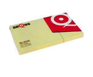 Comprar Bloc notas adhesivas Dequa 76x127mm 100h amarillo