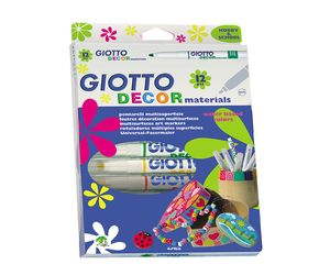 Comprar Estuche 6 rotuladores Decor Materials colores surtidos