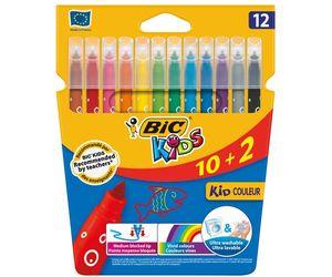 Comprar Estuche 10+2 rotuladores Bic Kids Couleur colores surtidos