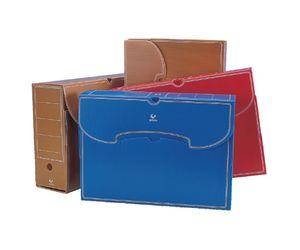 Comprar Caja archivo definitivo plástico folio marrón