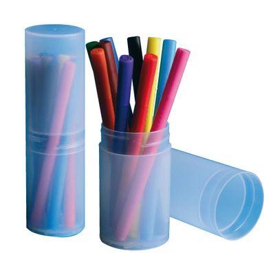 Comprar Tubo contenedor Really Useful boxes 0,32 l apertura intermedia color cristal transparente