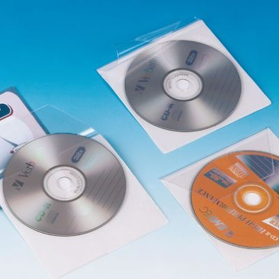 Comprar Pack 10 Fundas bolsillo autoAdhesivo CD